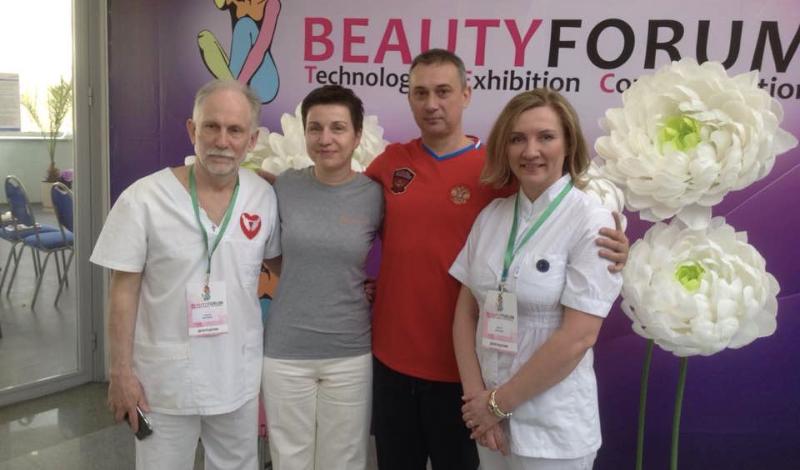 Александр Гончаров принял участие Beauty Forum в Екатеринбурге