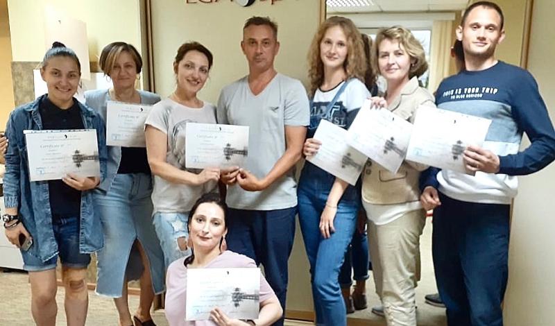 Александр Гончаров провёл семинар по тейпированию