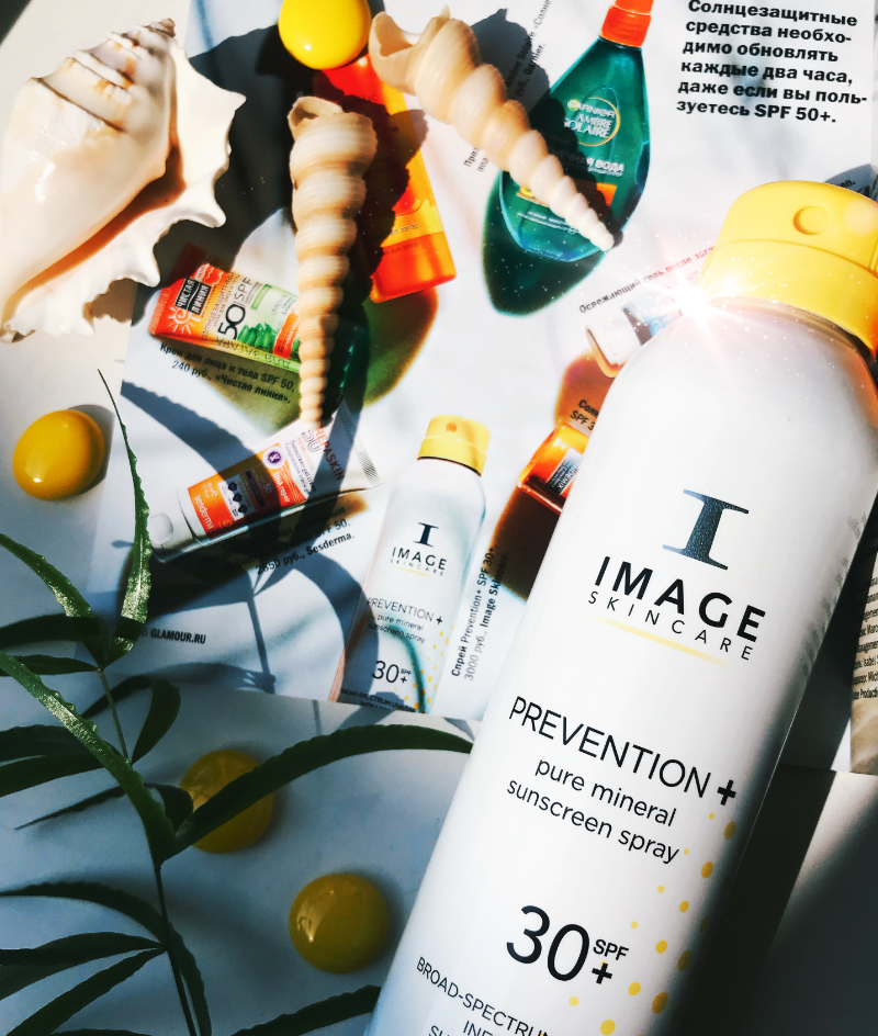 IMAGE Skincare в журнале GLAMOUR за июнь 2018