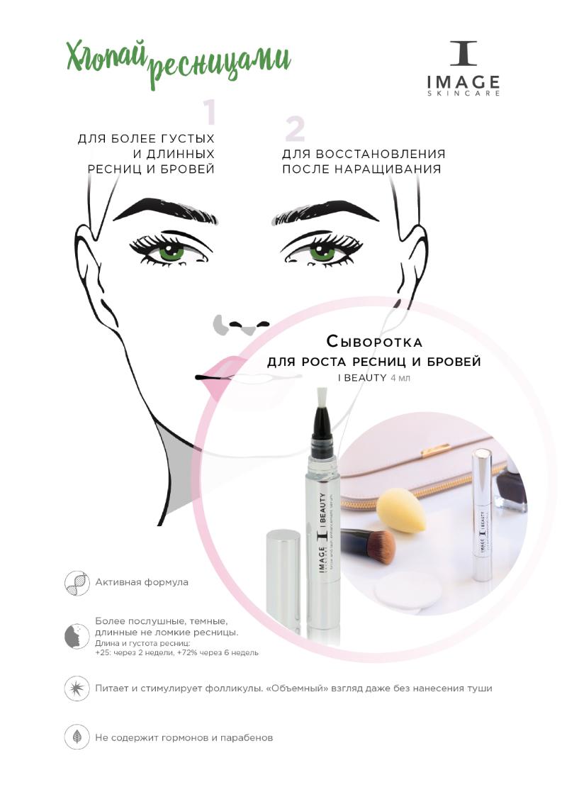 Питательная сыворотка для ресниц и бровей I Beauty Brow and Lash Enhancement Serum