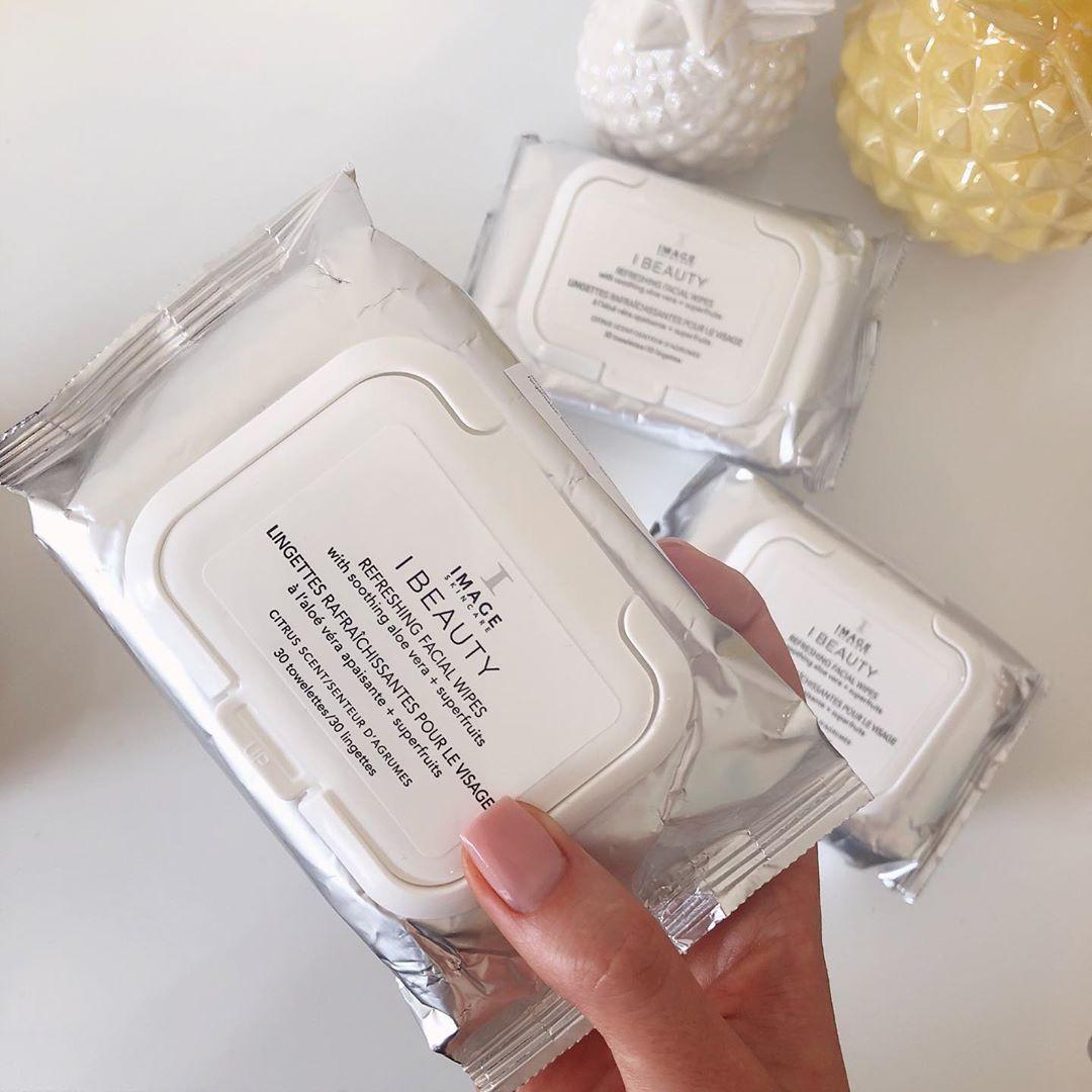 Очищающие салфетки для лица IMAGE Skincare