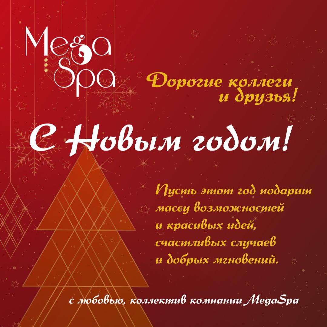 Дорогие друзья и коллеги! С Новым годом!
