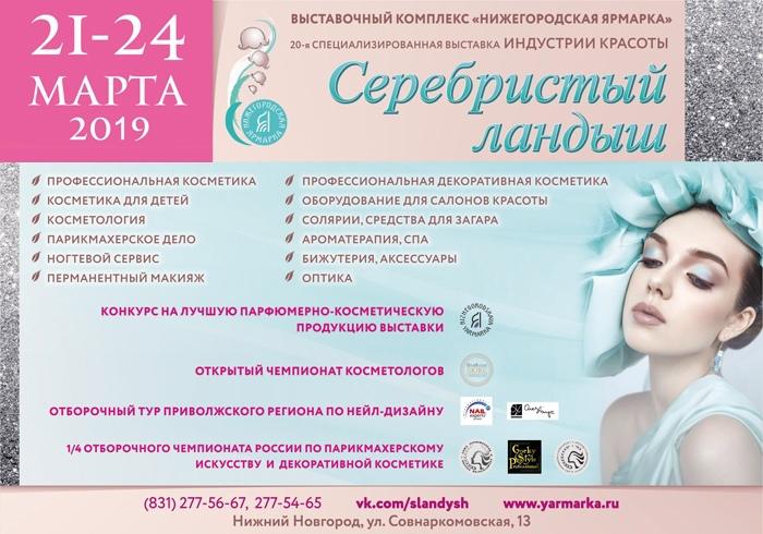 Второй открытый чемпионат эстетической косметологии в Нижнем Новгороде